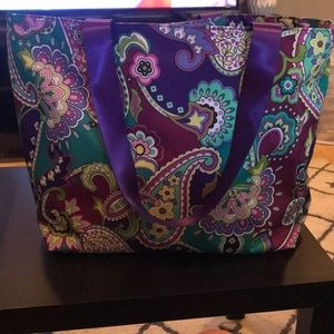 Large Vera Bradley tote bag NEW WITH TAGS